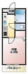ロジュマン鶴ヶ島五味ケ谷1番館[1階]の間取り