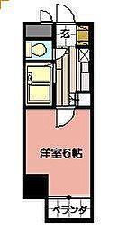 工大前アベニュー[3階]の間取り