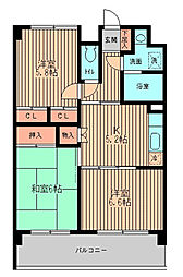 戸塚区矢部町 戸塚駅徒歩15分 ベルアネックス[104号室]の間取り