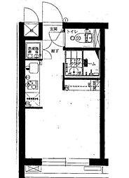 エクセシオーネ赤塚[1階]の間取り