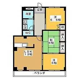 バードヒル香久山[2階]の間取り
