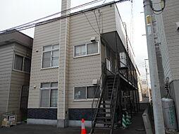 北海道札幌市豊平区美園七条2丁目の賃貸アパートの外観