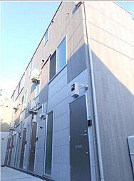 東京都大田区仲六郷1丁目の賃貸アパートの外観
