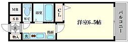 エステムコート大阪ベイエリア[10階]の間取り