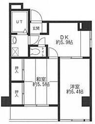 プレリエ高島平[2階]の間取り