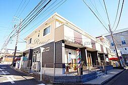 神奈川県藤沢市鵠沼石上2丁目の賃貸アパートの外観