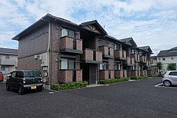 滋賀県野洲市行畑の賃貸アパートの外観