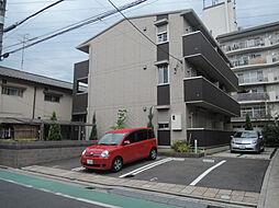 大阪府高槻市栄町4丁目の賃貸アパートの外観