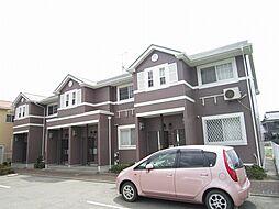 兵庫県姫路市飾磨区加茂北の賃貸アパートの外観
