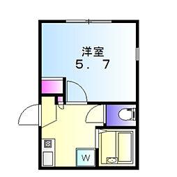 希望ヶ丘駅 4.5万円