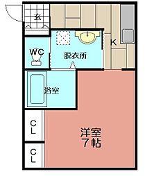日東興産ビル[303号室]の間取り
