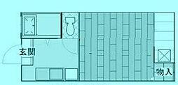 ドミールホシ[1階]の間取り