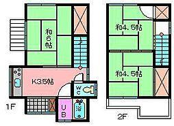[一戸建] 埼玉県さいたま市南区大谷口 の賃貸【埼玉県 / さいたま市南区】の間取り