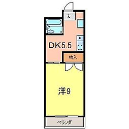 藤井マンション高倉[509号室]の間取り