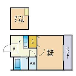 姪浜駅 3.2万円