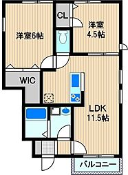 M's Home[1階]の間取り