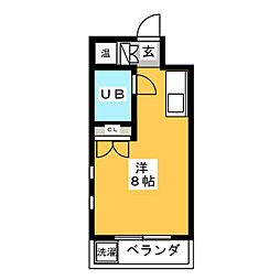 Be Box[3階]の間取り