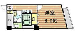 アベニューリップル小阪[1003号室]の間取り