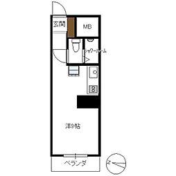 京急西広島マンション[2階]の間取り