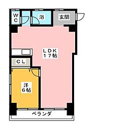 清住ビル[2階]の間取り