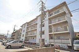西山本コーポラス2号[3階]の外観
