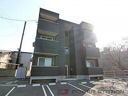 北海道小樽市新光1丁目の賃貸アパートの外観