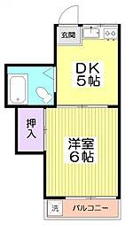 10611[2階]の間取り