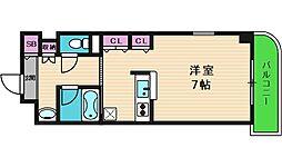 ティーアップスクエア[2階]の間取り