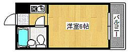 ダイドーメゾン御影II[5階]の間取り