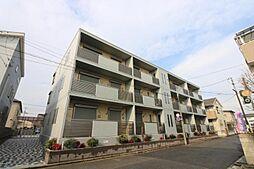 埼玉県川口市東領家1丁目の賃貸マンションの外観