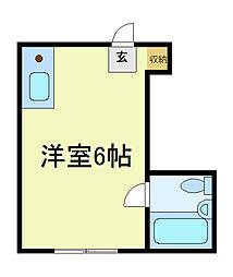 ココメゾン西田辺[2階]の間取り