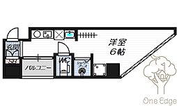 公高貴王ビル(女性限定レディースマンション)[9階]の間取り
