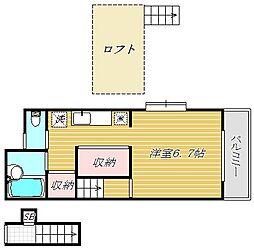 アクセス曳舟[2階]の間取り