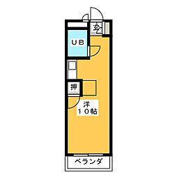 フォーラム石川[3階]の間取り