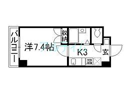 Sakura Residence[1階]の間取り
