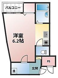 アークマンション[3階]の間取り