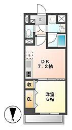 コンセール葵[7階]の間取り
