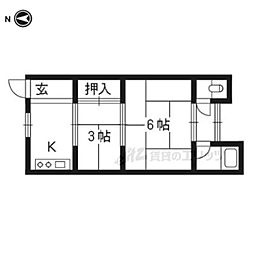 久津川駅 3.3万円