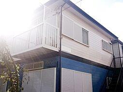 神奈川県横浜市港北区綱島東3丁目の賃貸アパートの外観