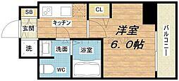 スワンズシティ堺筋本町[10階]の間取り