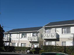 埼玉県東松山市松本町2丁目の賃貸アパートの外観