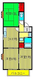 ファミール(三輪野山)[A-102号室]の間取り