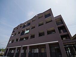 栃木県宇都宮市鶴田2の賃貸マンションの外観