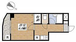 ラ・ジオン昭島[4階]の間取り