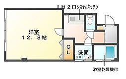 井沢第2ビル[2階]の間取り