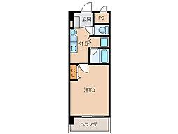 シトラス古屋[3階]の間取り