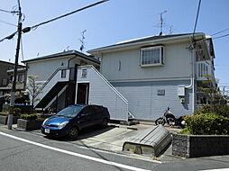 大阪府豊中市南桜塚3丁目の賃貸アパートの外観