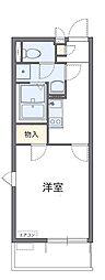 埼玉県さいたま市緑区芝原2丁目の賃貸アパートの間取り