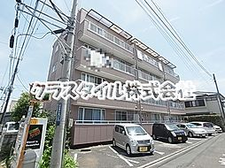 神奈川県海老名市門沢橋3丁目の賃貸マンションの外観