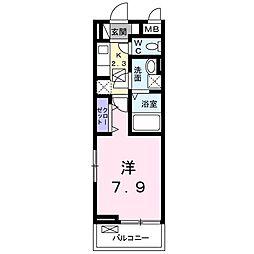 カルム[3階]の間取り